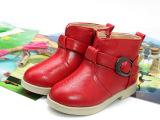 童鞋2014冬新款保暖女童棉鞋加厚靴子公主短靴一件待发