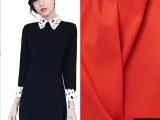 气质显瘦短裤斜纹布料高端欧美风大衣外套涤纶料职业套装纺织面料