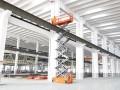 中山五桂山车间安装用10米升降机出租,10米电动升降机租赁