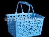 厂家供应pp塑料篮子 塑料手提篮子