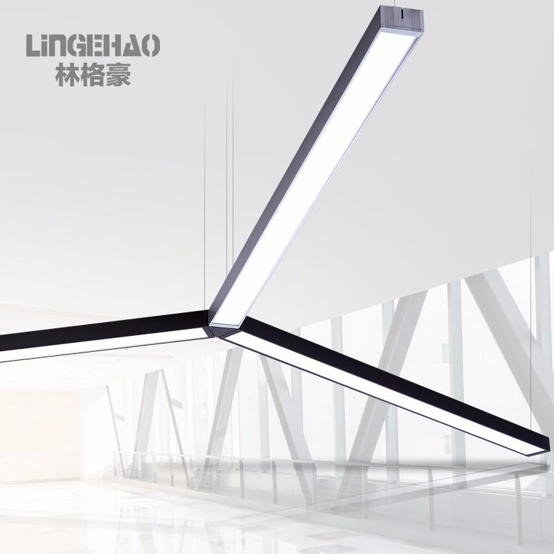 林格豪led长条灯办公照明办公室吊灯简约