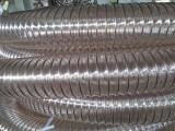 高伸缩软管PU钢丝管安徽工业通风管强度高耐水解