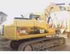 定西个人一手卡特320D挖掘机整车原版低价出售中