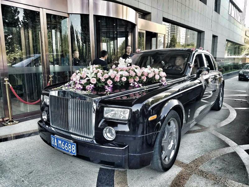西安奔驰S级婚车出租网站安全可靠