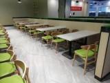 智能食堂餐桌椅图片 大理石食堂桌子批发 四人位食堂餐桌椅