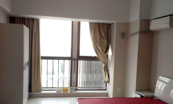 柯桥柯桥柯桥万达公寓 1室1厅 58平米 中等装修 半年付