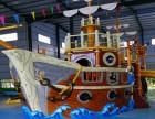 广州水上乐园设备厂家 大型水屋水寨 海盗船水寨