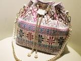 2013浅秋季新款 女士单肩包 进口麻布包包 时尚民族风潮流女包