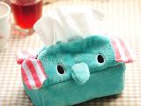 批发 薄荷小象 马戏象 大象纸巾套 纸巾抽套 卡通纸巾盒