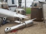 供应二手全新1-30吨不锈钢浓缩降膜蒸发器全套设备