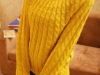 2014春秋冬装新款羊毛衫套头针织衫宽松简约复古麻花女装毛衣外套