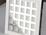 厂家批发LED铝材天花灯格栅灯方形格子LED商铺照明办公照明铝材