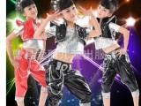 儿童舞蹈演出服装男童街舞少儿现代舞蹈服爵士舞表演服亮漆皮舞蹈