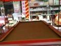 精品台球桌+实木桌柱和台边+大理石台面