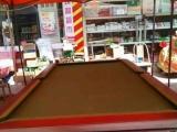 精品台球桌 实木桌柱和台边 大理石台面