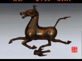 厂家直销批零仿古青铜器古玩工艺品 马踏飞燕 商务馈赠佳品可定做