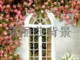 广州批发背景布/拍摄背景油画/主题婚纱背