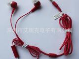 【厂家批发】供应入耳式耳机 线控通话手机耳机 MP3通用耳机