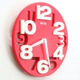 三维立体数字静音挂钟 客厅创意时尚墙钟