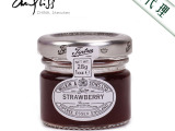 安得利 进口食品 英国缇树 覆盆子味果酱 28g 英国白金汉宫御
