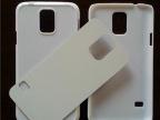 三星S5/i9600热转印手机壳 空白铝片PC素材热转印耗材批发