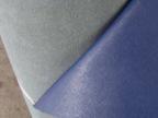 prada纹十字纹二层皮再生革