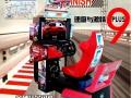 3D动感高清环游游艺机模拟机赛车机