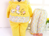 年终大促 婴儿保暖服系列 宝宝四件套 宝宝棉衣套装 婴儿外出服
