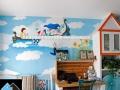 儿童房,网咖,主题酒店,幼儿园,餐厅墙绘装饰设计