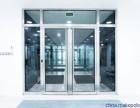 上海华丽定做玻璃隔断 定做玻璃门 安装玻璃
