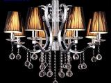 欧式现代布艺吊灯  餐吊灯 卧室灯饰客厅吊灯酒店工程灯具xb-8