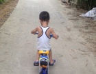儿童双座位自行车