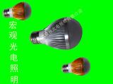 厂家直销批发LED球泡灯5W供电电压AC36V