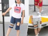 5块童装纯棉中裤 儿童韩版裤子 中小童时尚裤子 可混发