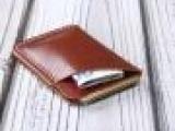 高档卡包 欧美卡套 订制植鞣牛皮 卡片包 零钱包