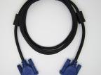厂家批发 VGA线 1.5米3+5蓝头电脑连接线 VGA高清显示器连接线