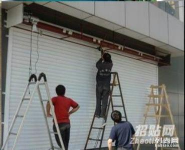 泉州维修玻璃门 更换地弹簧 维修卷帘门