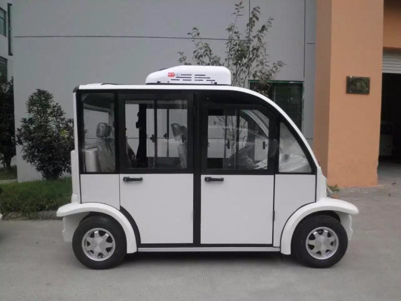 北京房山8座封闭式电动观光车