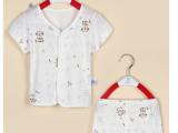 BABUDOG童装品牌原单厂家 宝宝睡衣家居服套装 小儿童睡衣纯棉夏