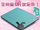 九州风神N2 14/15.6/17寸笔记本电脑散热架 超薄静音散