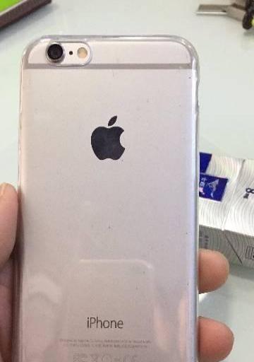 转让九成新苹果6  ,银色,16G---1350元