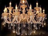 奢华k9水晶灯 别墅复式客厅餐厅水晶吊灯G004