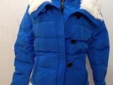 韩2014新款小时代同款3短款羽绒服女加厚修身兔毛领刺金时代冬装