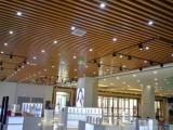生态木吊顶 5060条型天花 酒店大厅专用吊顶天花