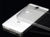 小米4手机壳 小米4手机套超薄 M4保护套软边框 新款透明后盖