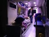120救护车出租专业接送重症监护病人出入院服务或者回家治疗