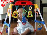 音乐宝宝儿童健身架婴儿健身架玩具0-1岁宝宝健身器早教站立玩具