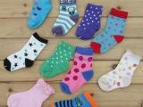 外贸尾单小童袜 宝宝儿童袜子全棉1-3岁左右 库存袜子厂家批发