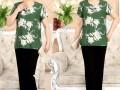广州超低价中老年服装批发摆地摊几块钱阿姨装上衣 裤子3元批发