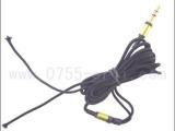 供应编织布金属耳机线材加工